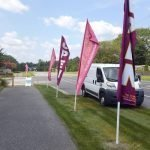 Custom Flutter Flags by Sign Central, Inc.