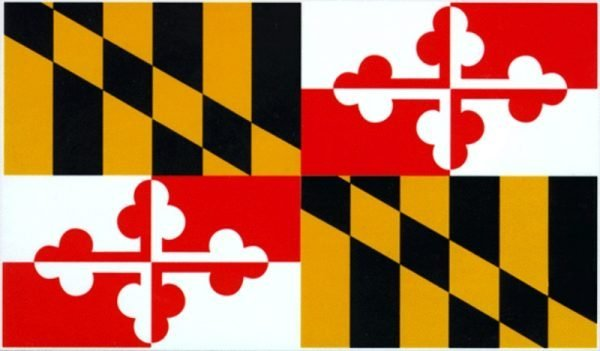 Maryland (MD) State Flag sold by Sign Central, Inc.