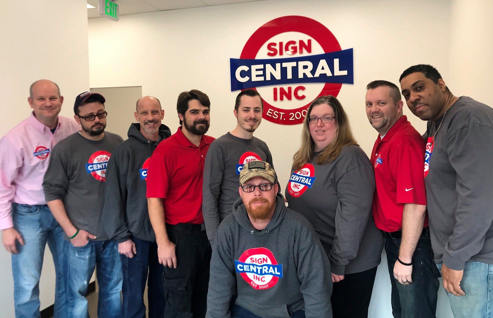 Sign Central staff