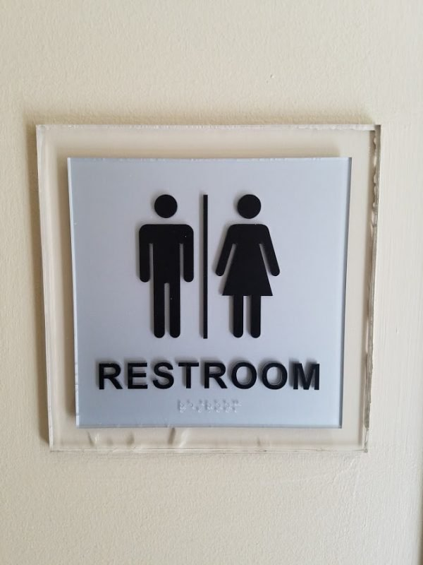 ADA Restroom Sign by Sign Central, Inc.
