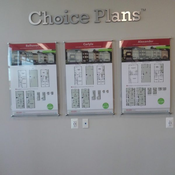 Acrylic Indoor Sign Display by Sign Central, Inc.