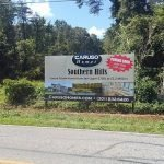 Advertising billboard by Sign Central, Inc.