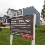 Real Estate Banner Sign by Sign Central, Inc.