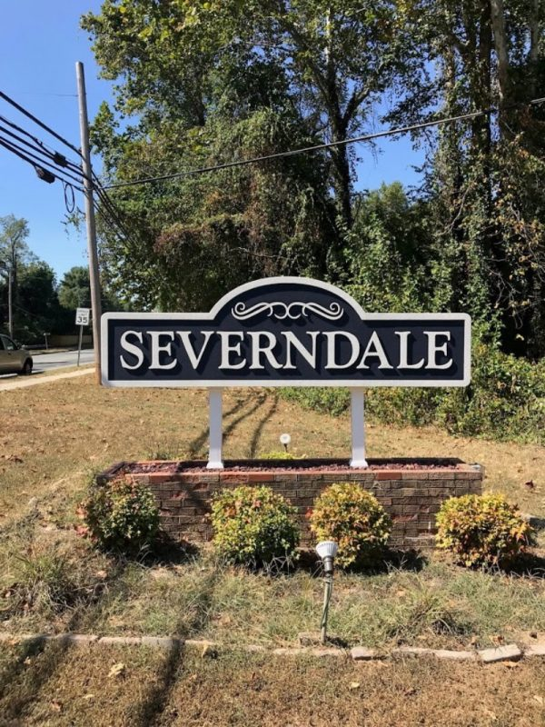 Brick Monument by Sign Central, Inc. at Severndale Community Association