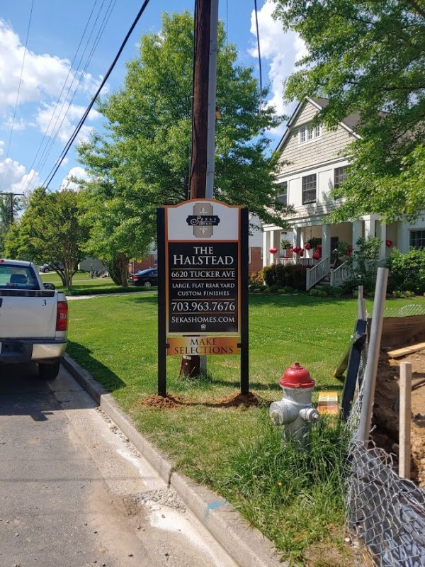 Custom Community Sign by Sign Central, Inc.