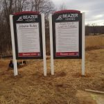 Custom Construction Sign by Sign Central, Inc.