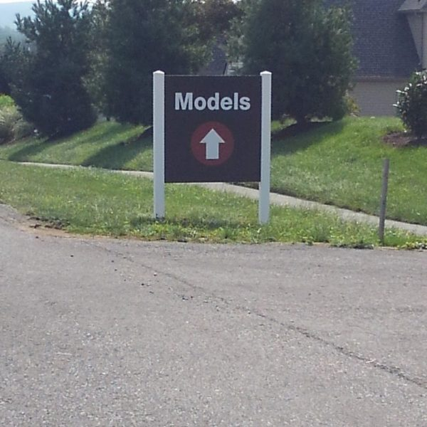 Custom Directional Signs by Sign Central, Inc.