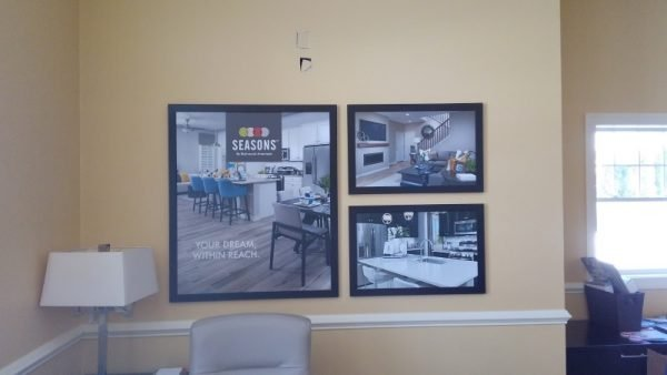 Custom Framed Signs by Sign Central, Inc.