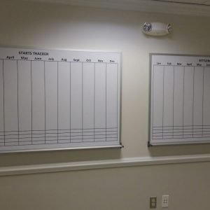 Dry Erase Displays with Custom Graphics by Sing Central, Inc.