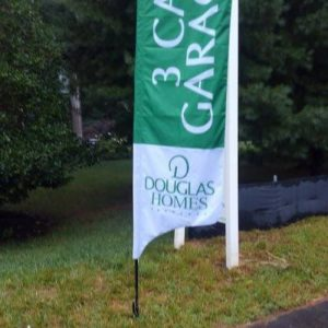 Feather and Flutter flags by Sign Central, Inc.