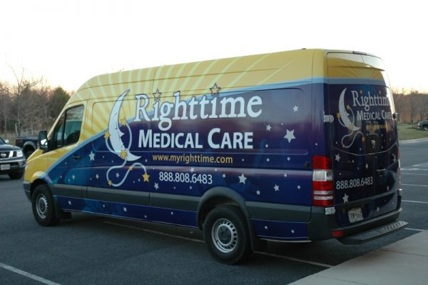 Full custom vehicle wrap by Sign Central, Inc.