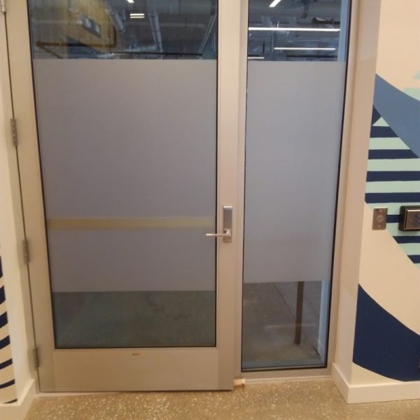 Glass Door Etched Vinyl Graphics by Sign Central, Inc.