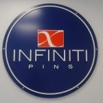 Infiniti Pins Impact business logo by Sign Central, Inc.