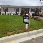 Medium Density Overlay (MDO) Sign— sized 2×2 on PVC post by Sign Central, Inc.