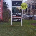Medium Density Overlay-MDO-Sign with Crown Molding-size 4x8 by Sign Central, Inc.