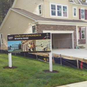 New home Banner by Sign Central, Inc.