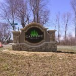 Peachtree Foam Monument Sign by Sign Central, Inc.