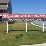 Real Estate Financing Banner by Sign Central, Inc.
