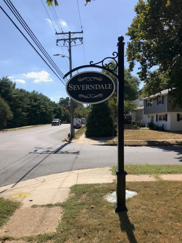 Severndale Community Sign by Sign Central, Inc.