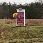 Site Sign with Crown Molding by Sign Central, Inc.