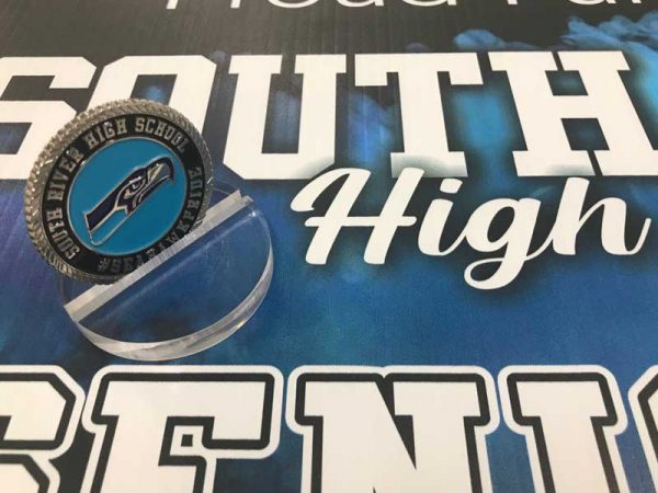 South River High School Coin by Sign Central, Inc.