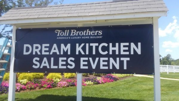 Toll Brothers Banner by Sign Central Incc