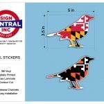 Vinyl Stickers by Sign Central, Inc.