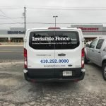 Vinyl Window and Vehicle lettering and contact information by Sign Central, Inc.