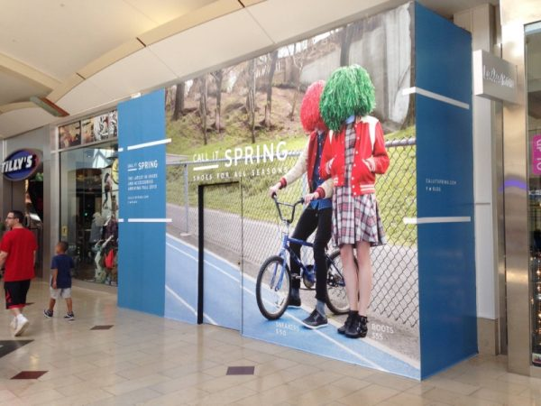 Vinyl Wall Graphics for Store Front Covering by Sign Central, Inc.
