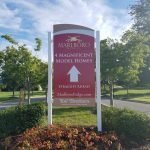 Way Finding Sign for Model Homes by Sign Central, Inc.