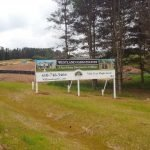 Westland Farm Estates Banner Post Setup by Sign Central Inc