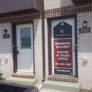 Wormald Door Banner by Sign Central, Inc.
