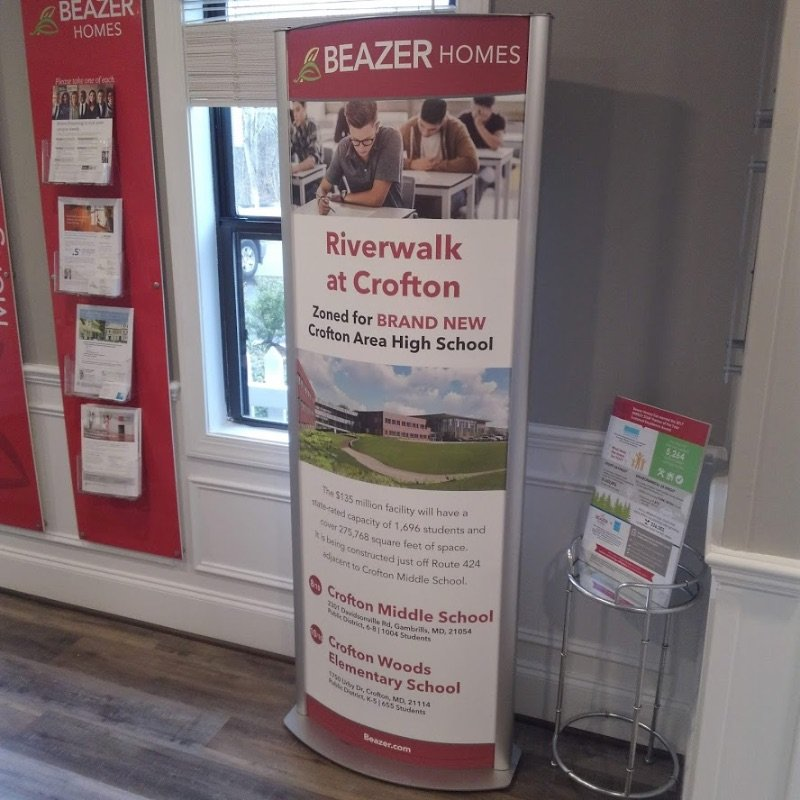 Custom Business Floor Displays by Sign Central, Inc.
