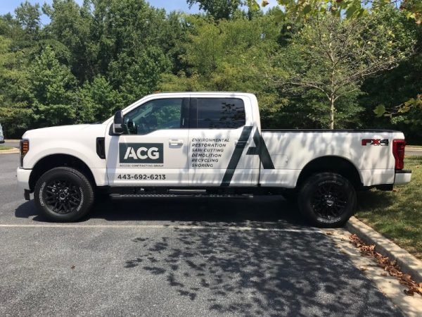 Custom Vehicle Lettering & Graphics by Sign Central, Inc.